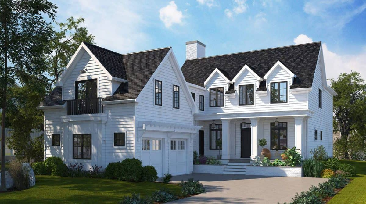Varsity Modern Colonial residential architecture