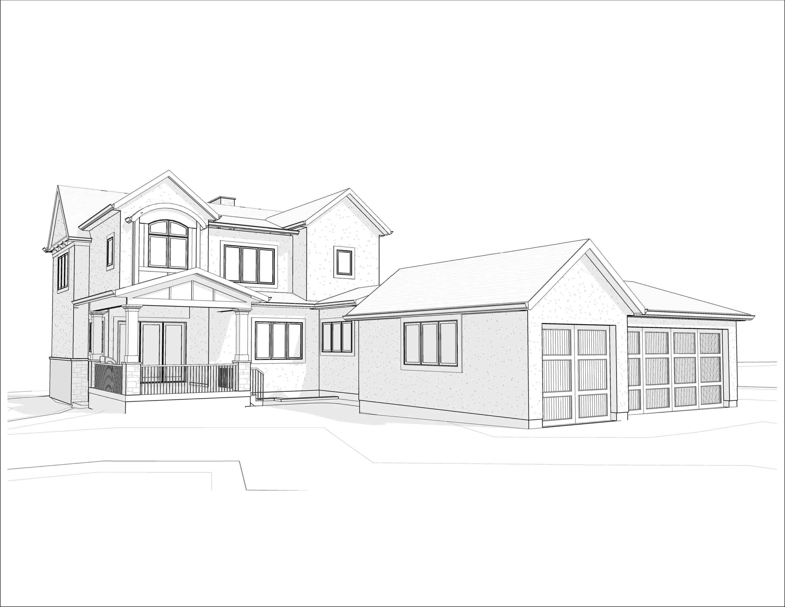 Charleswood Traditional dream home