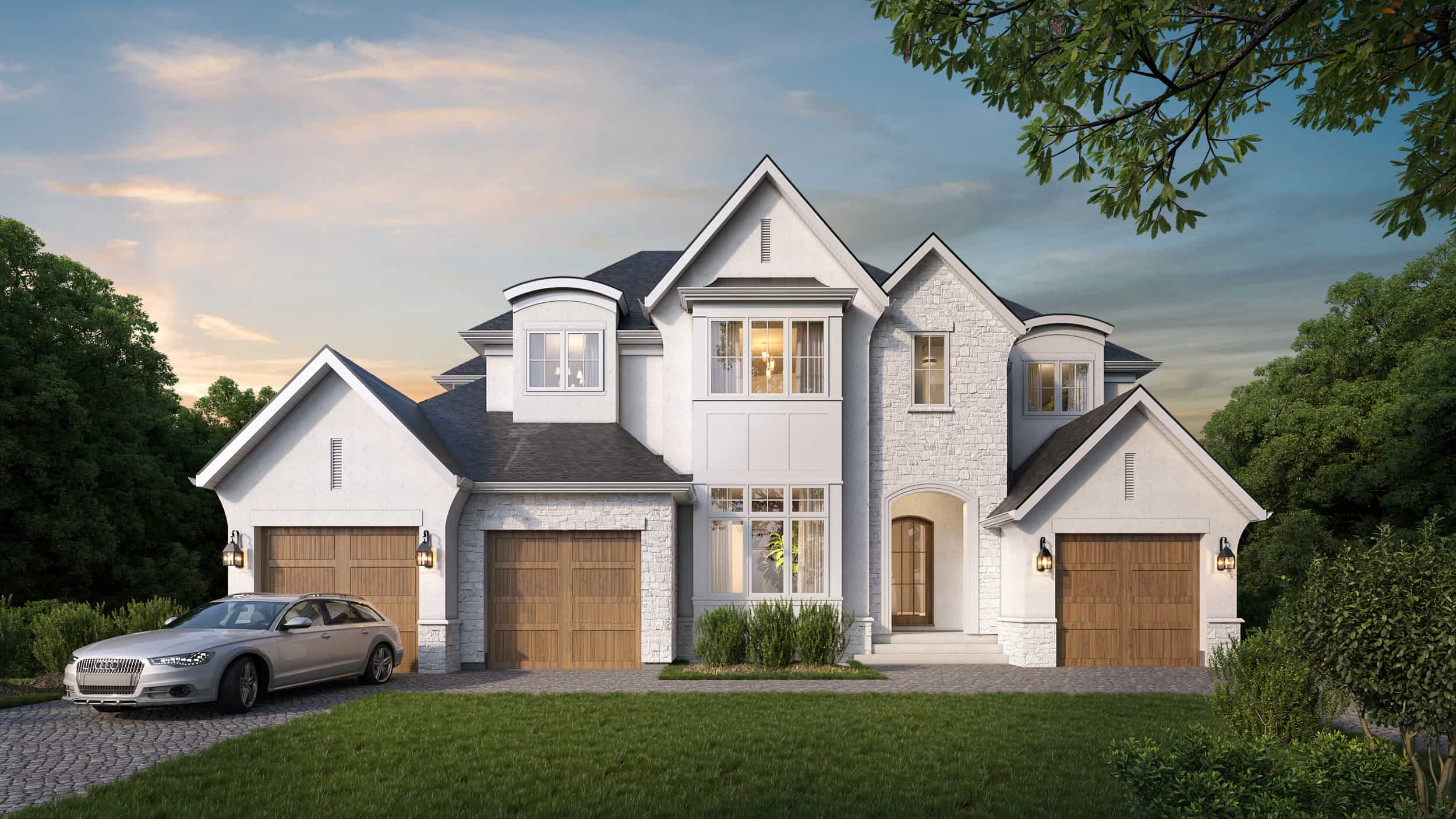 Edelweiss English Manor residential architecture