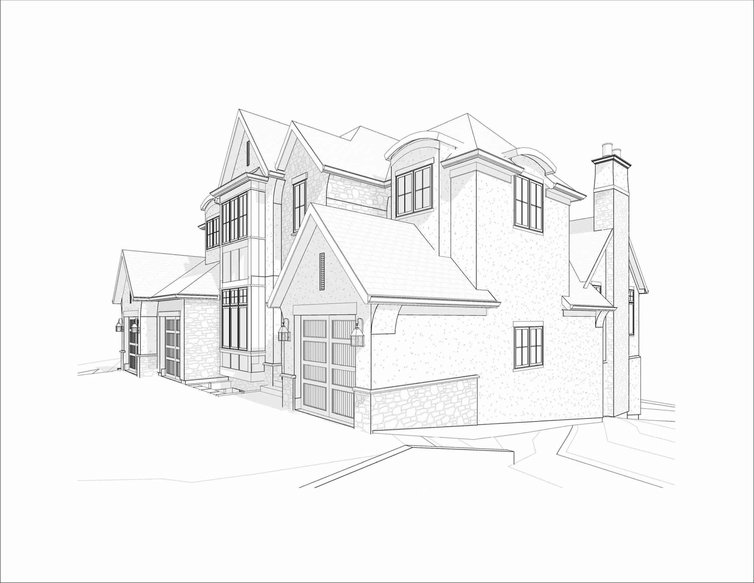 Edelweiss English Manor custom dream home