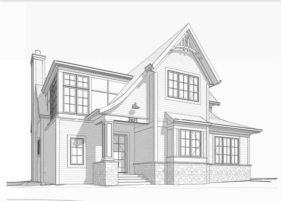 Logan Crescent Traditional residential design