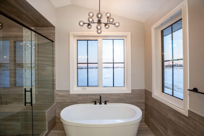 Ensuite bathtub