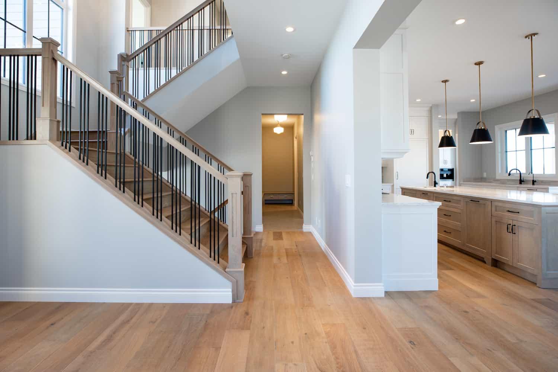Custom home - hallway