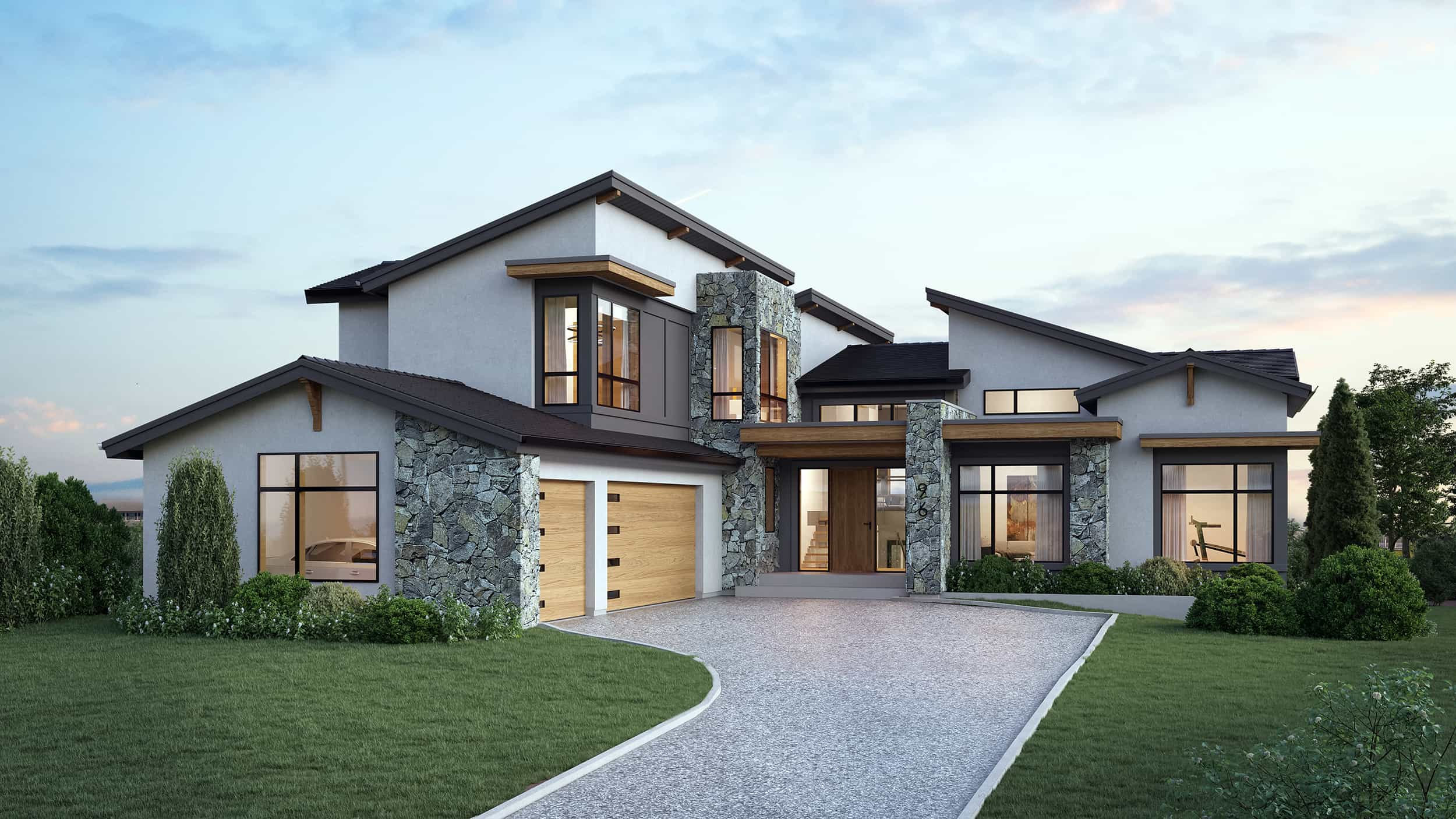 Desert Blume Mountain Modern custom luxury home