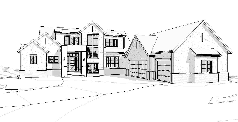 De Winton Transitional custom architecture