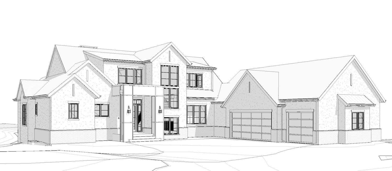 De Winton Transitional residential design