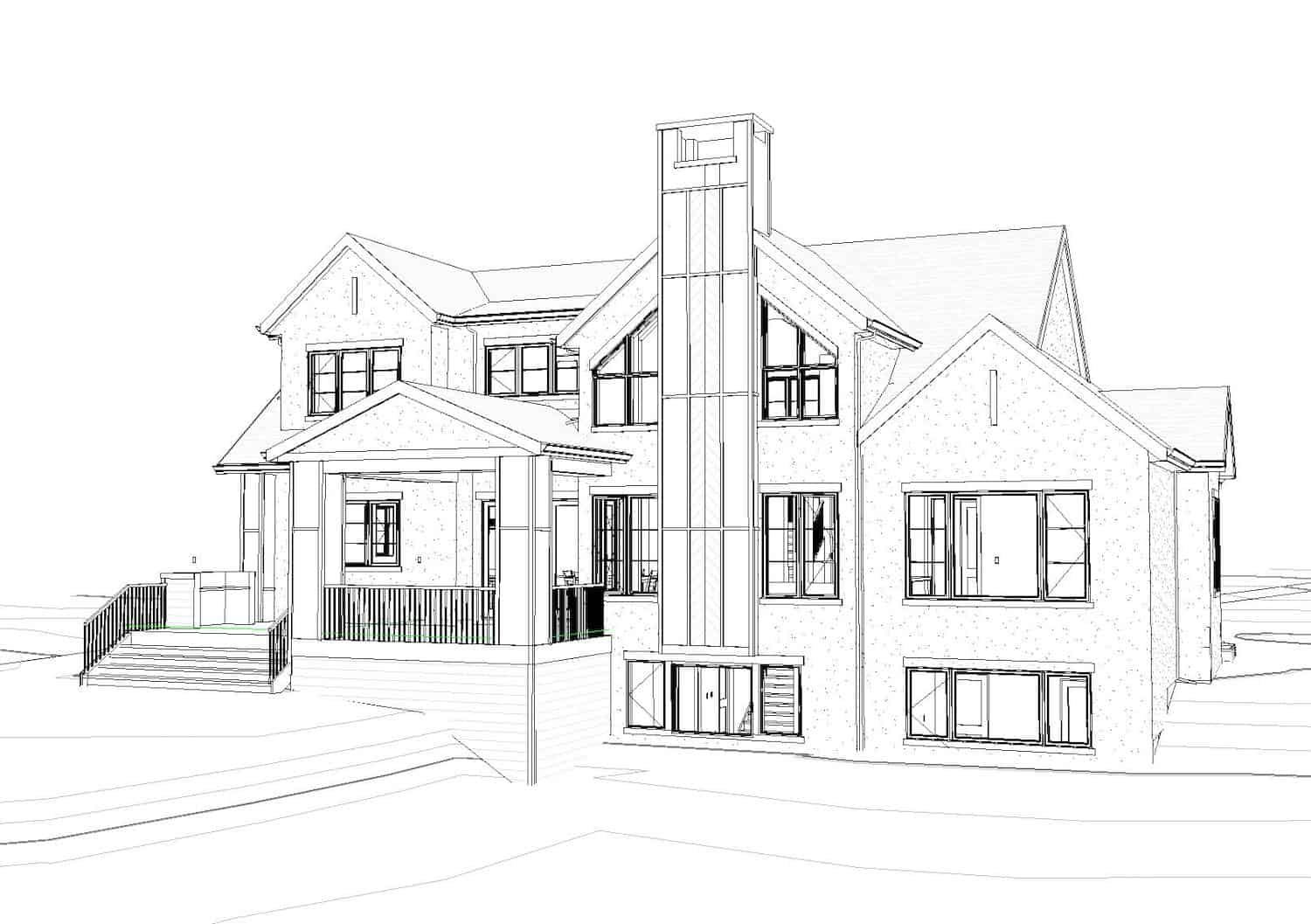 De Winton Transitional residential luxury home