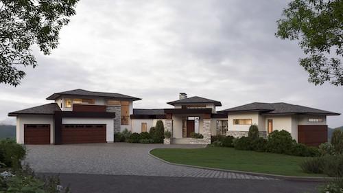 Springbank Hill Modern Prairie Featured custom architectural design