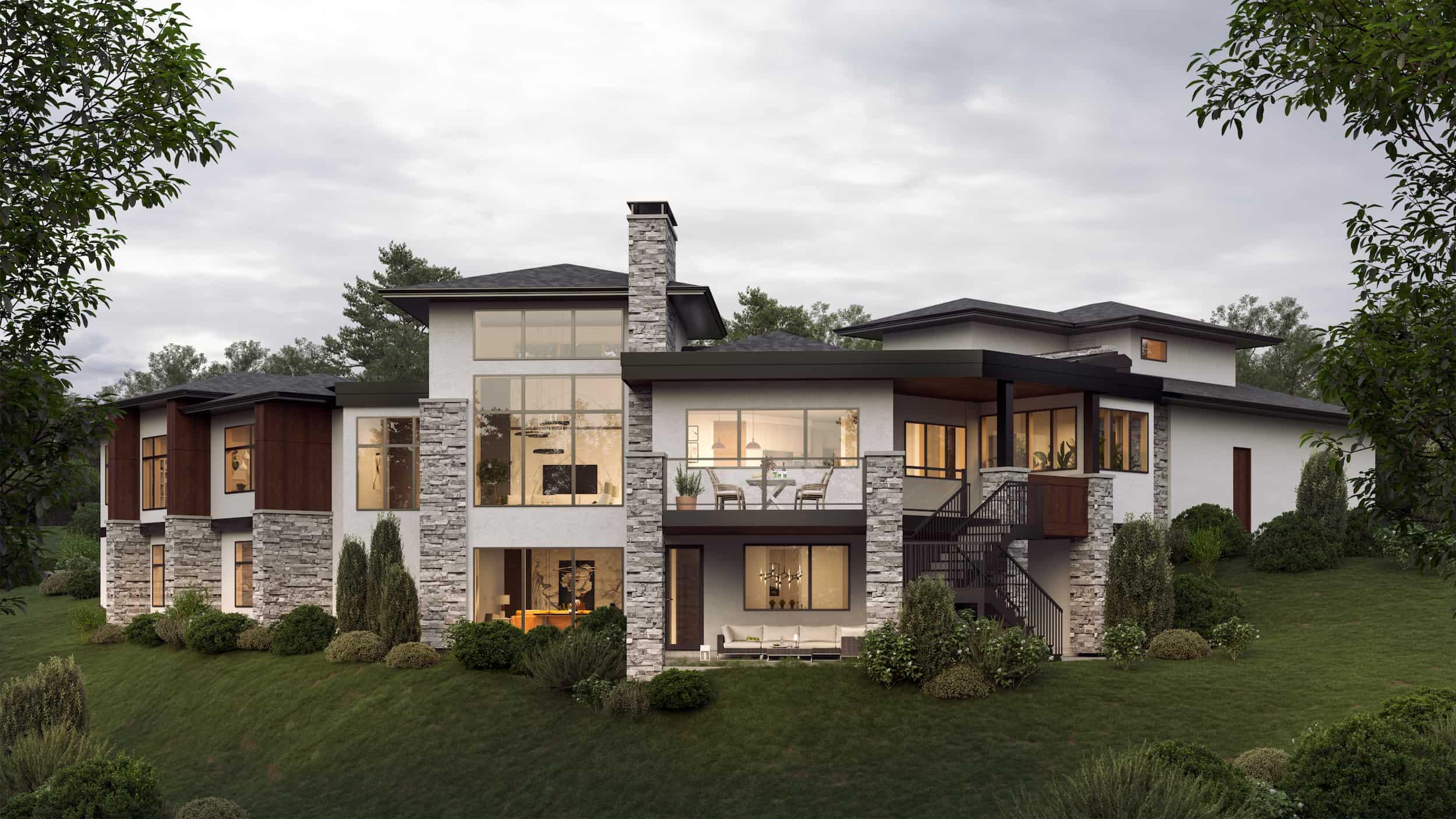 Springbank Hill | Modern Prairie Bungalow