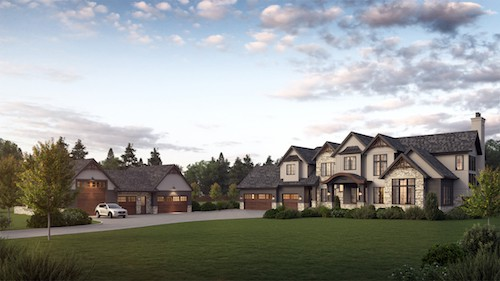 Woodland Heights Traditional luxury home