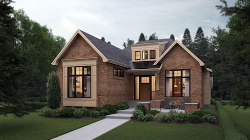 North Glenmore Park Traditional Bungalow luxury custom architecture