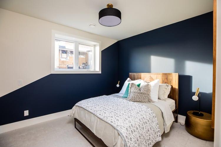 Watermark at Bearspaw - Modern Farmhouse bedroom