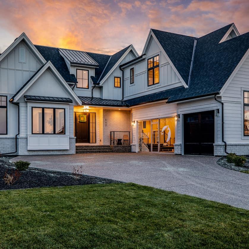 Watermark at Bearspaw - Modern Farmhouse custom residential design