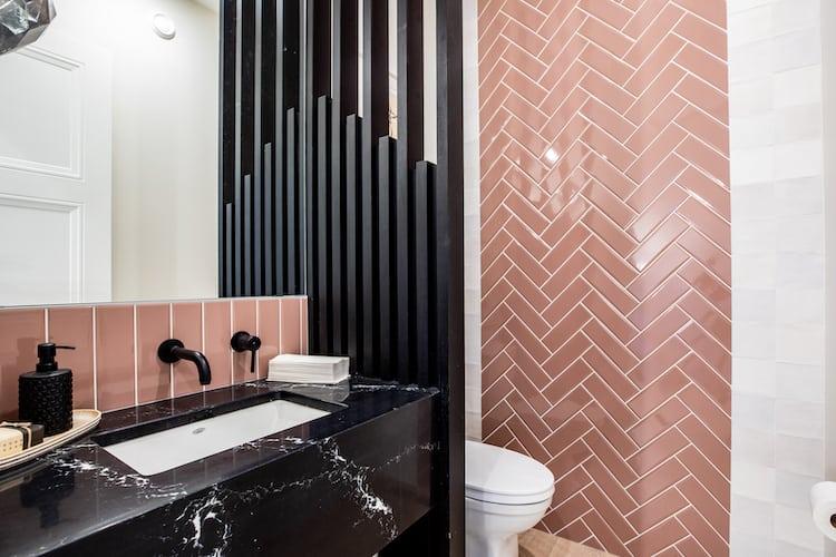 Watermark at Bearspaw - Modern Farmhouse washroom