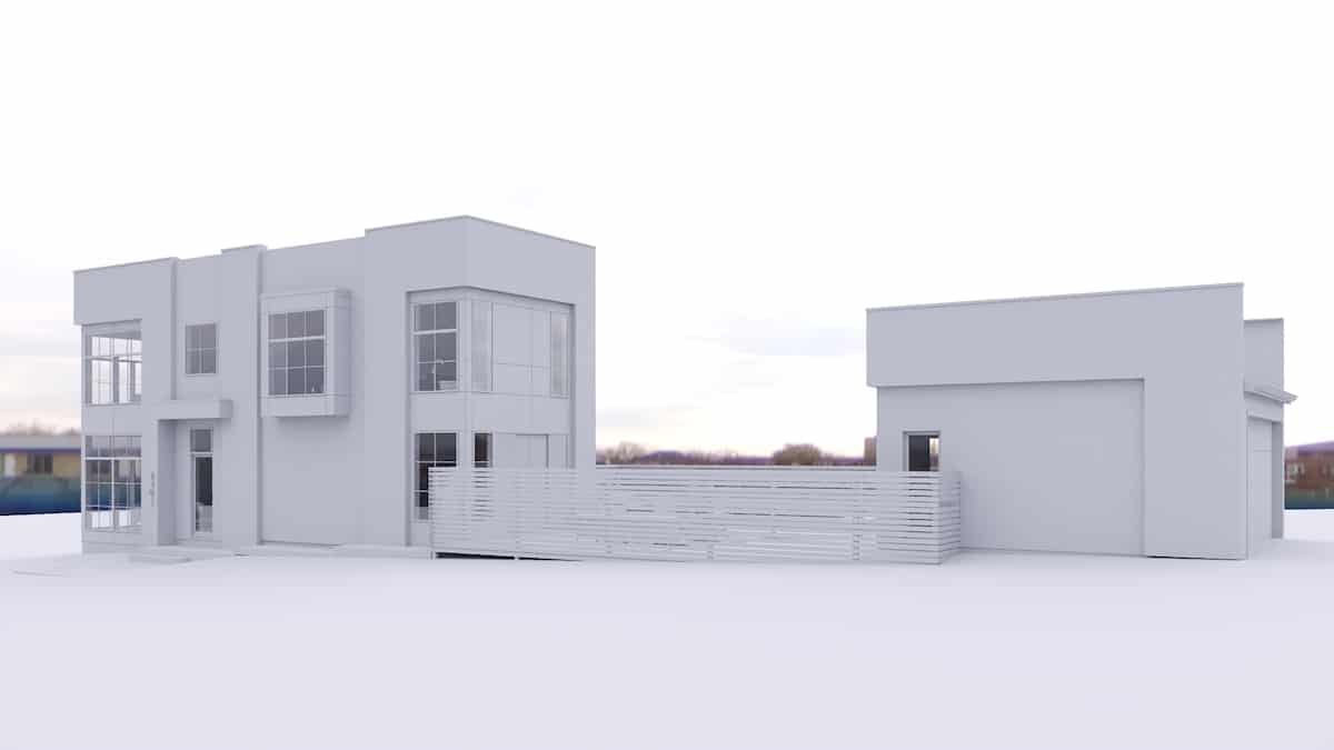 Killarney Modern Infill architecture design