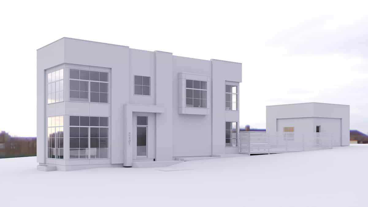 Killarney Modern Infill custom dream home