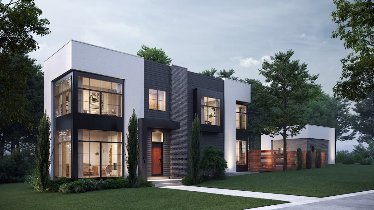 Killarney Modern Infill luxury residential architecture