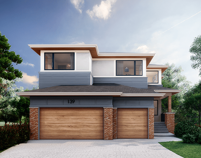 Discovery Ridge | Modern Prairie custom residential design featured