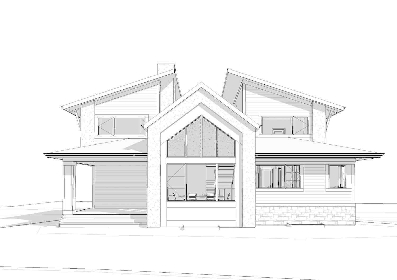Watermark at Bearspaw - Modern Contemporary custom architecture