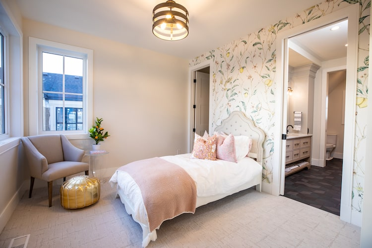 Watermark at Bearspaw - Modern Farmhouse bedroom3