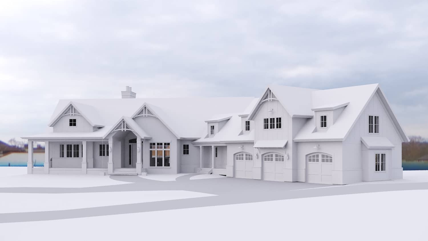 Bearspaw Traditional residential design