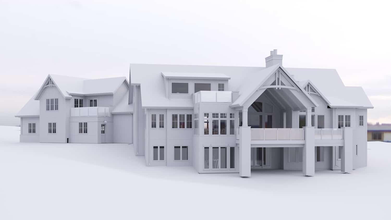 Bearspaw Traditional custom luxury home