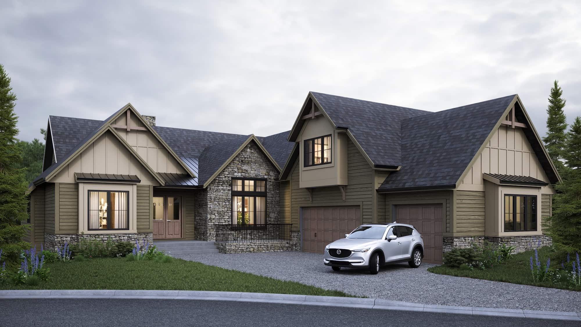 Rodeo Ridge - Craftsman Bungalow custom residential architecture