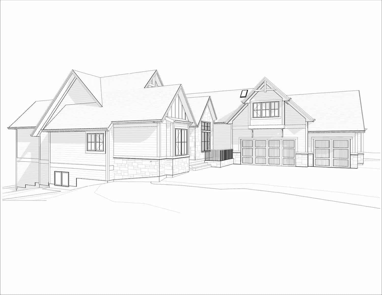 Rodeo Ridge Craftsman Bungalow residential design