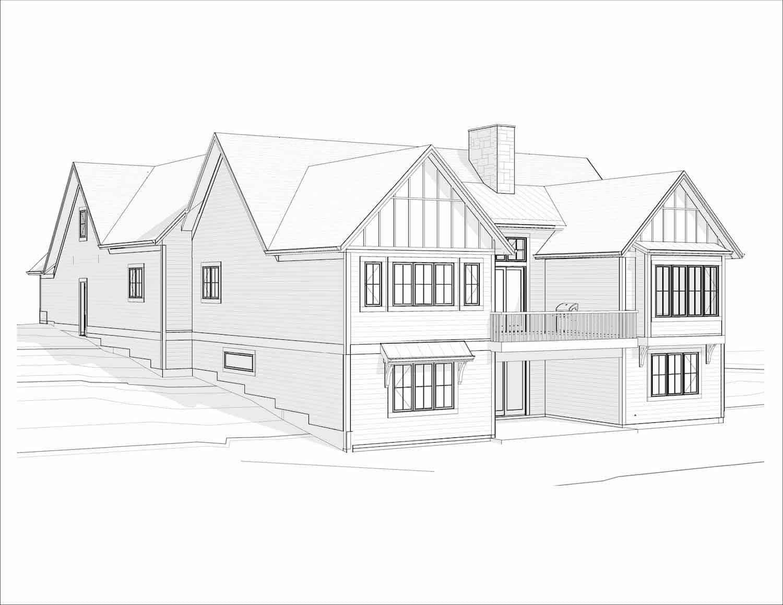 Rodeo Ridge Craftsman Bungalow residential architecture