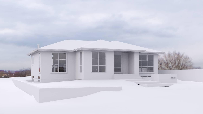 Rosemont Modern Renovation luxury residential home
