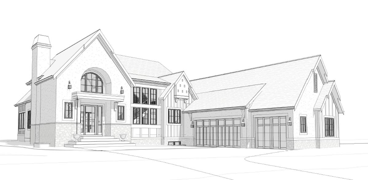 Calgary West | Belgian Farmhouse custom residential design