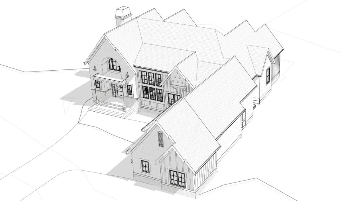 Calgary West | Belgian Farmhouse custom residential home