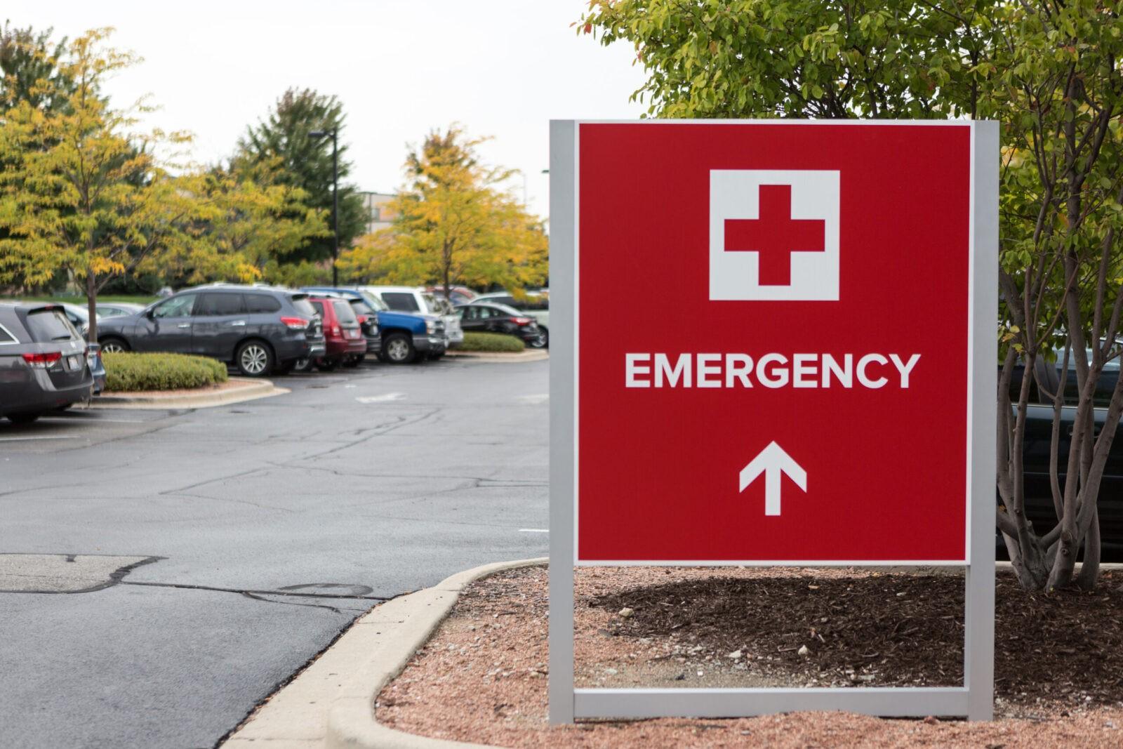 Forcade Healthcare Exterior Branded Wayfinding Signage