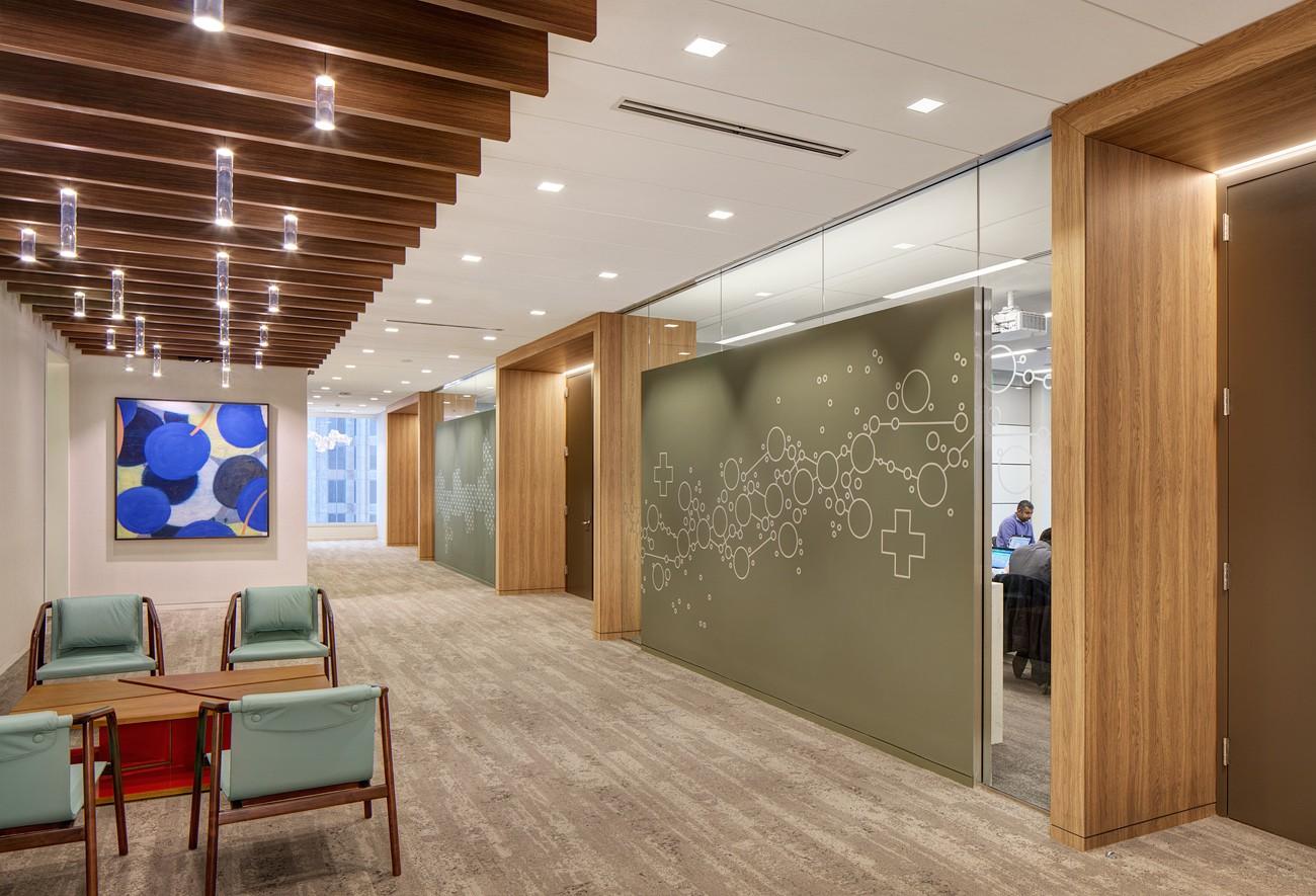KPMG Office; Dallas, TX; Forcade Associates; Darris Lee Harris Job#1323