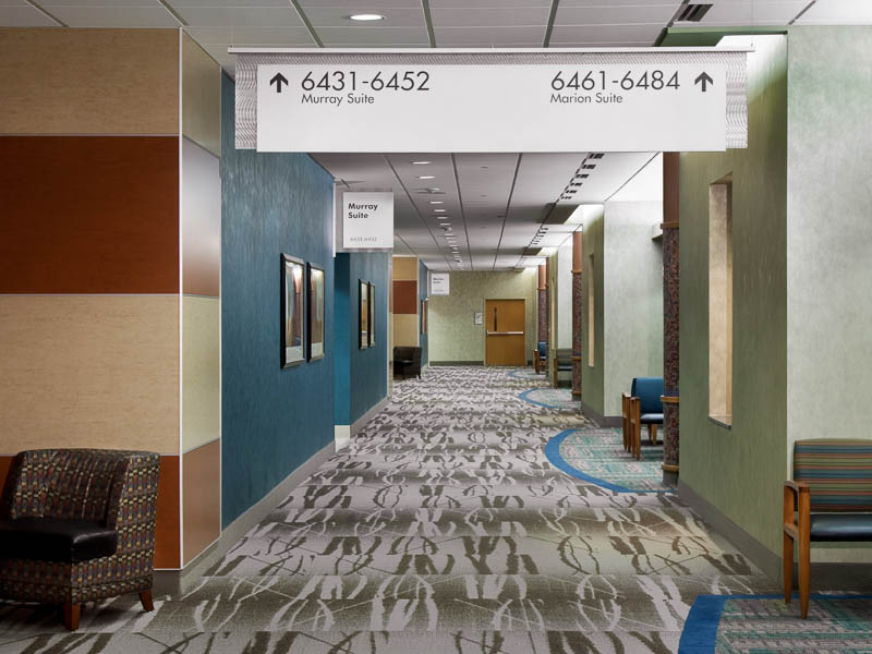 Palmetto Health Heart Hospital Healthcare Wayfinding | Forcade Associates