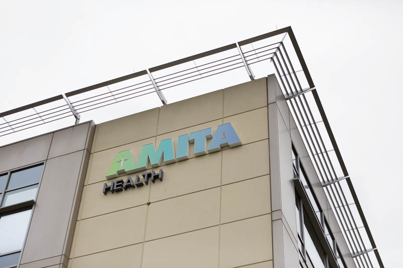 AMITA Healthcare Wayfinding | Forcade Associates