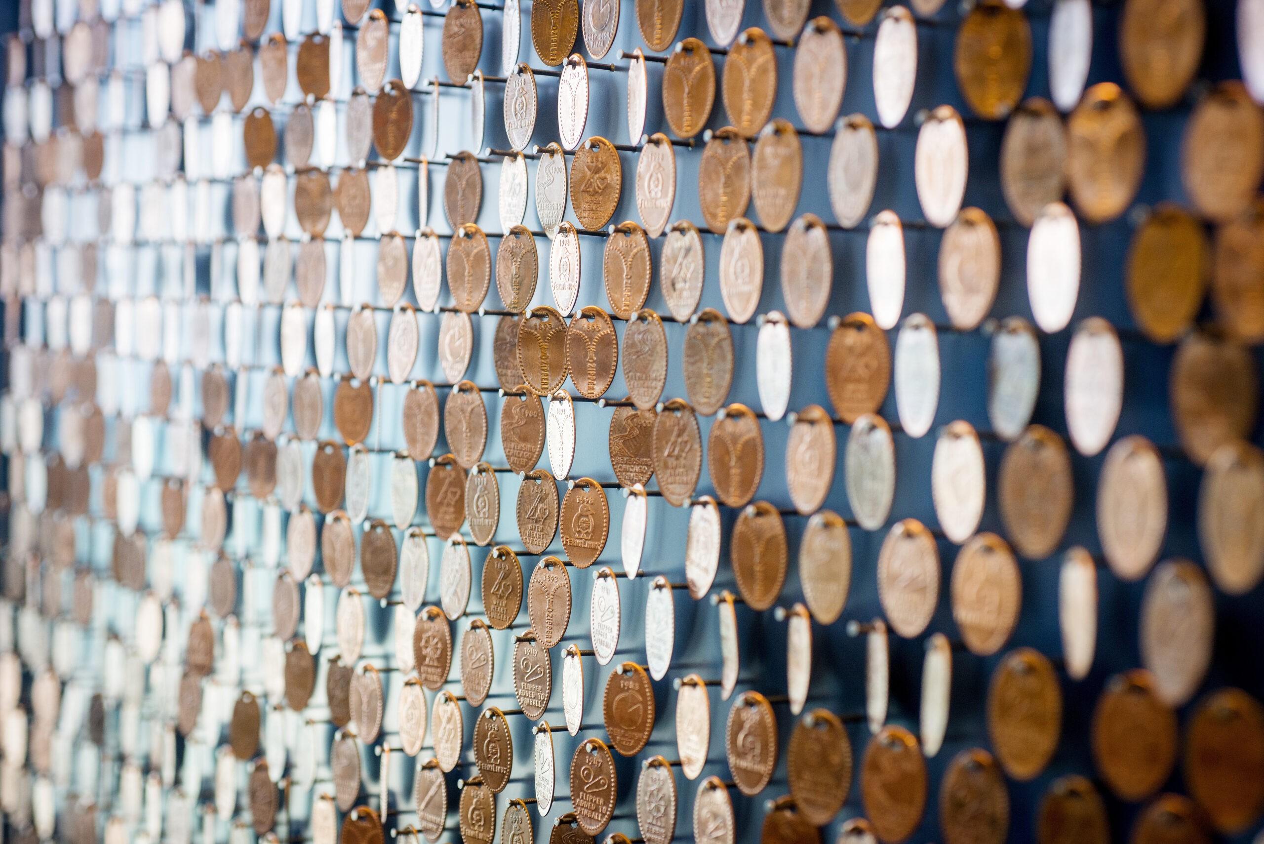 Forcade Penny Wall