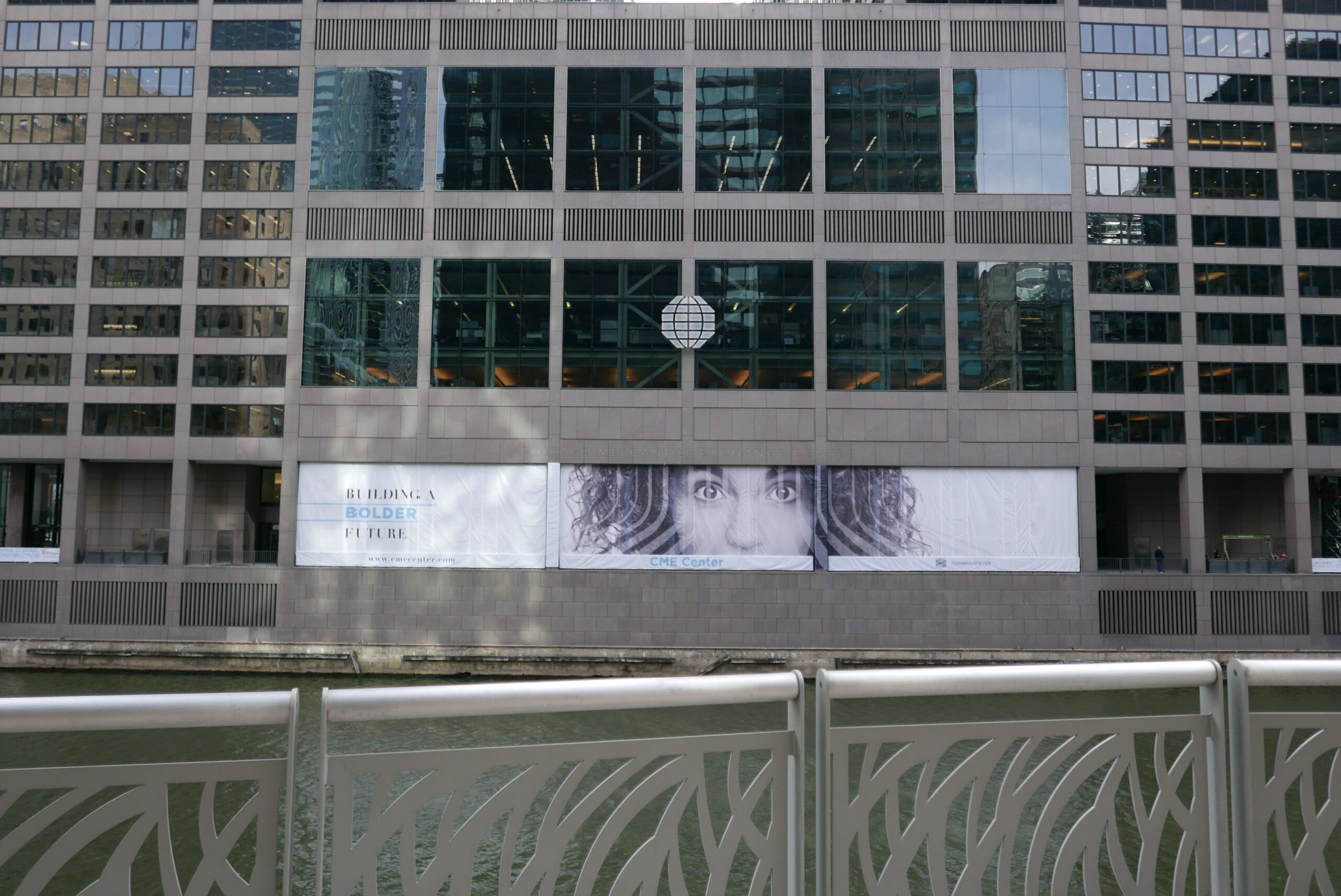 Forcade Construction Barricade Graphics Chicago Riverfront