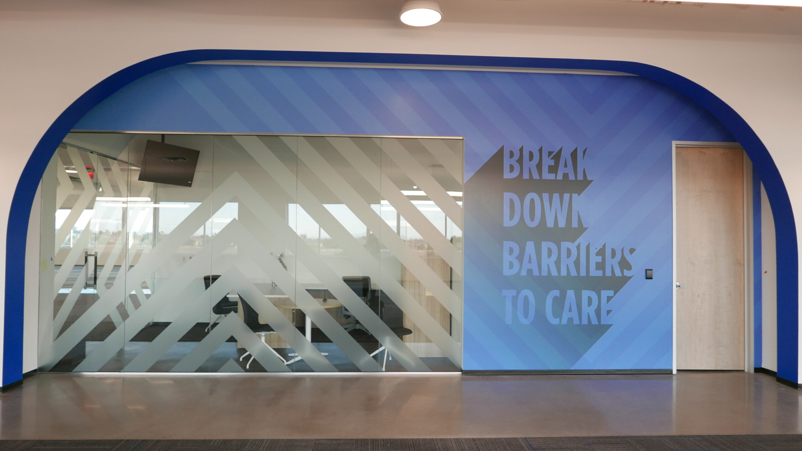 Forcade Bold Brand Culture Wall and Window Graphics