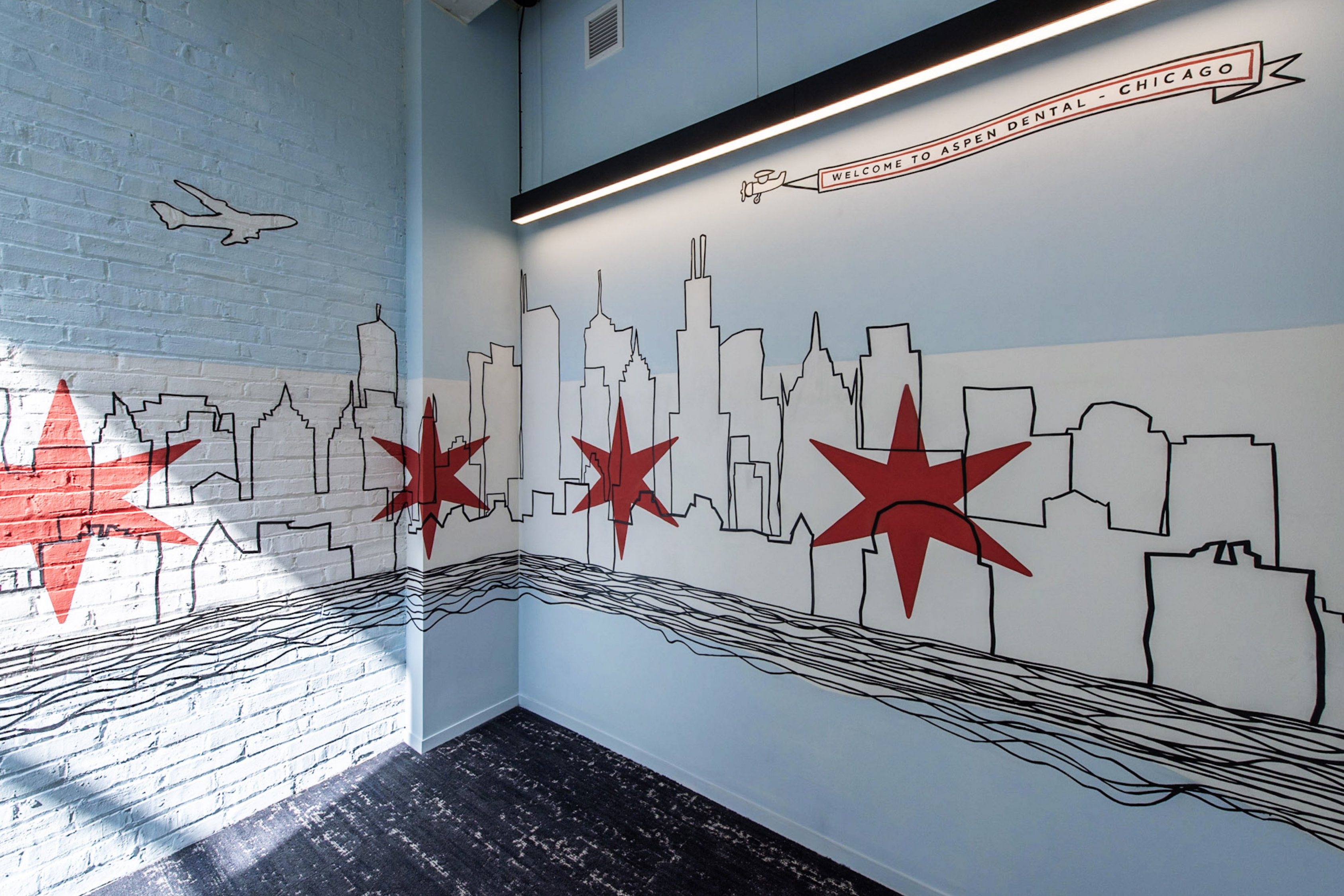Forcade Branded Chicago Wall Mural