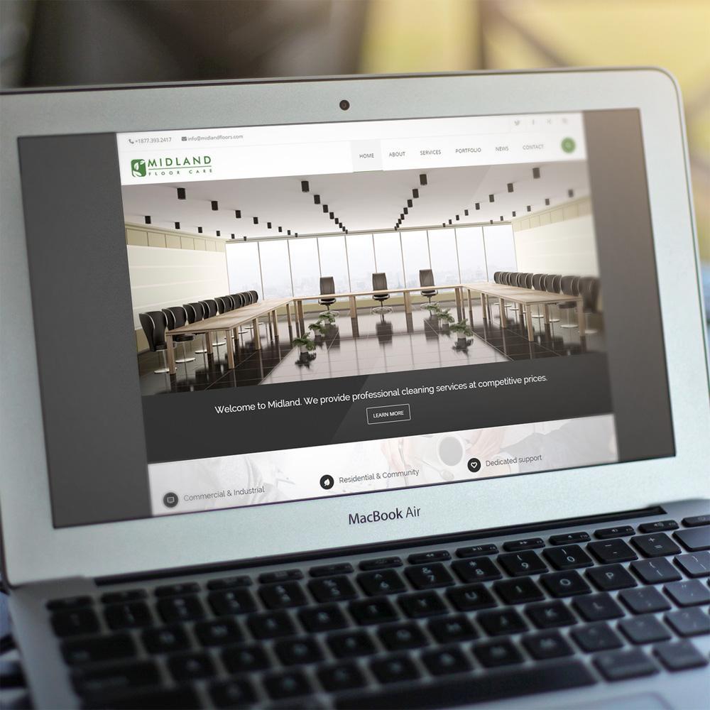Midland Floor Care Website Launch