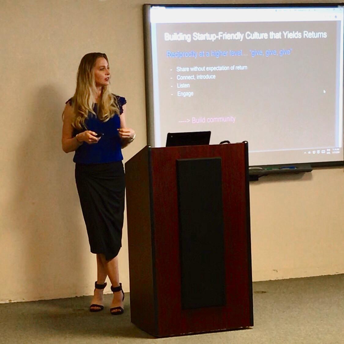 Talk: Building a Startup Ecosystem