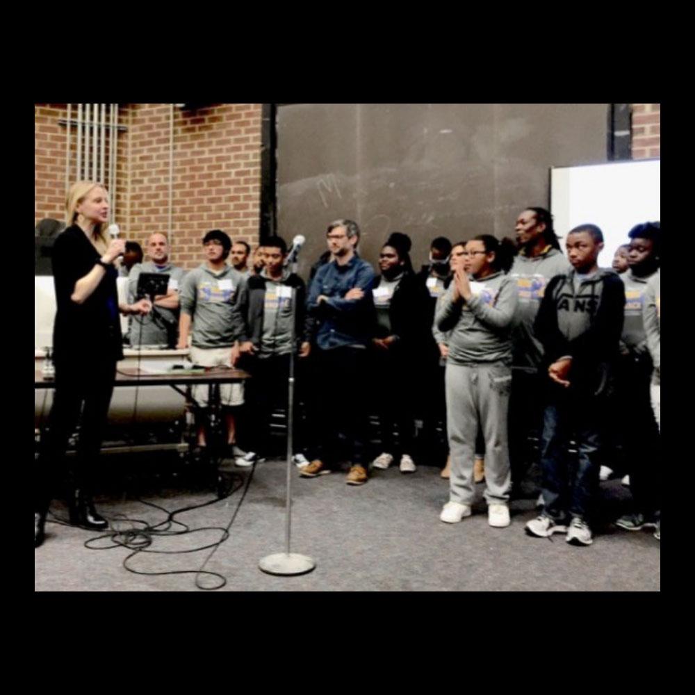 Speech & Judge: Qyeno Hackathon with Oakland Youth