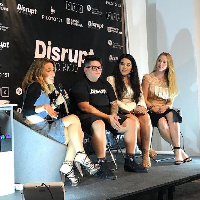 Panelist: Women in Tech at Disrupt Week