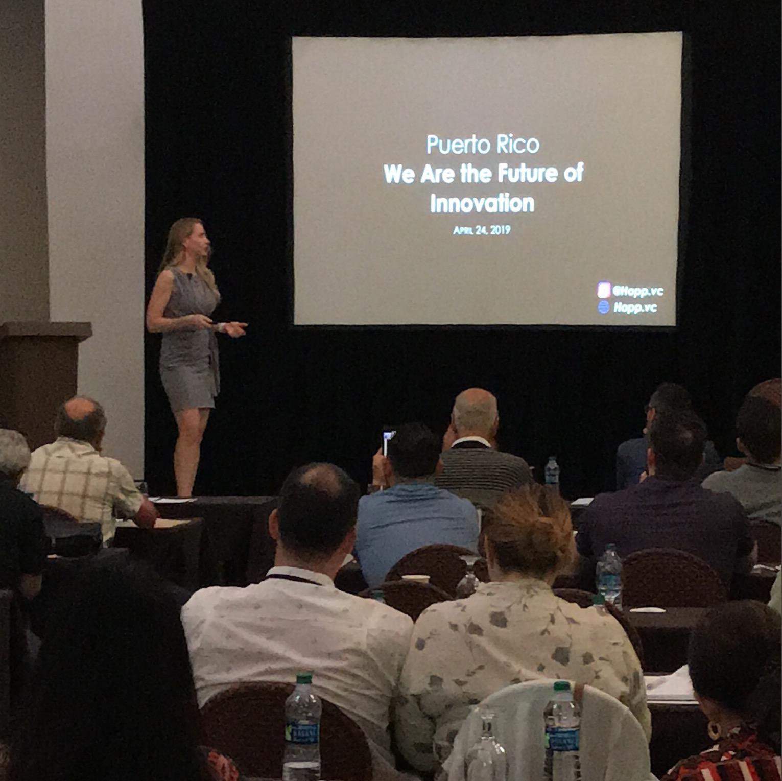 Talk: Puerto Rico – The Future of Innovation