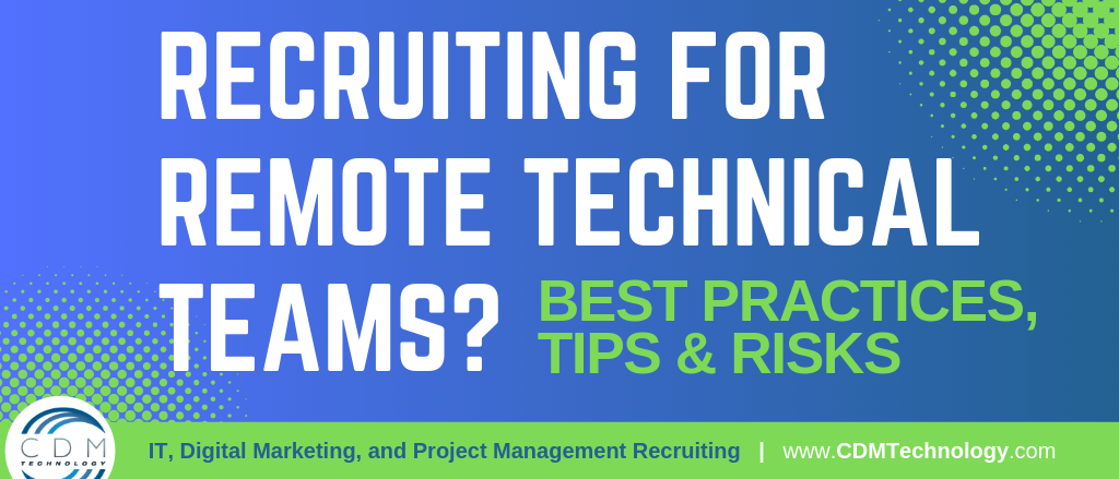 Recruiting for Remote Technical Teams HEADER
