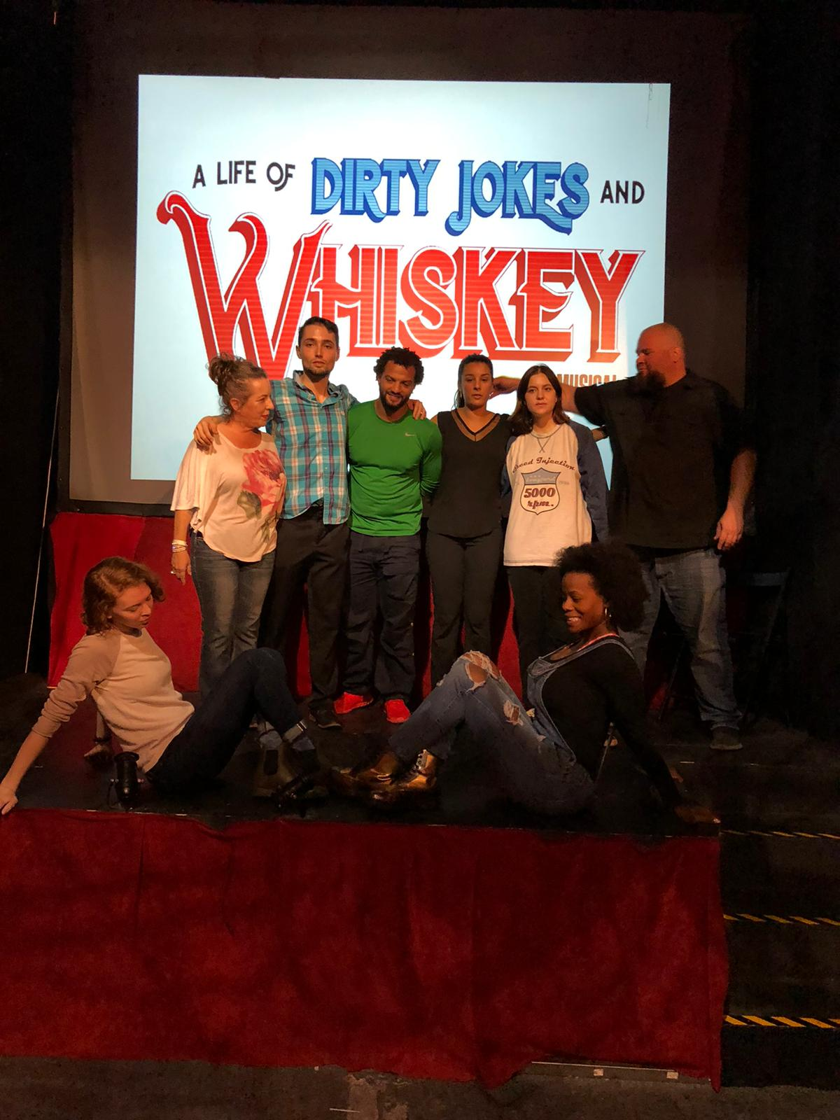 The Cast Of Dirty Jokes & Whiskey
