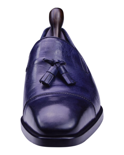 Angelo Galasso Signature Royal Blue Loafer shoes-2
