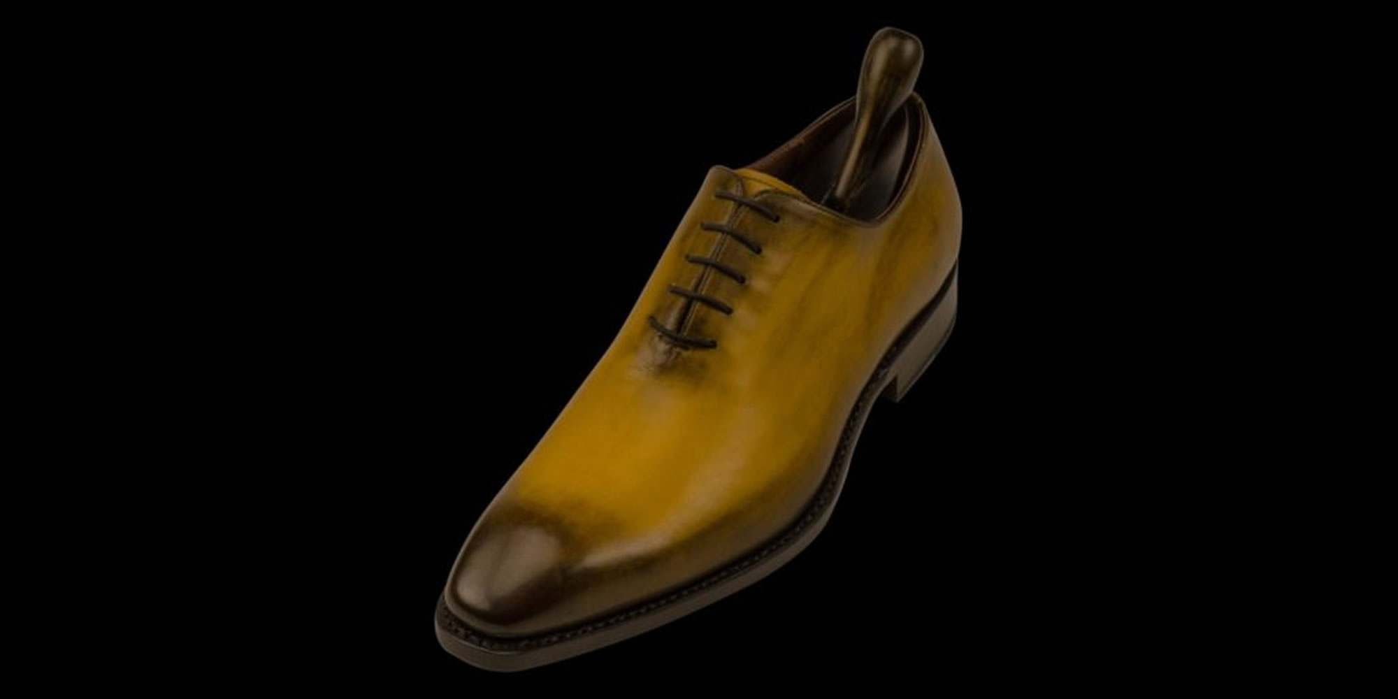 milanesi goodyear welted shoes hand burrnished