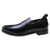 Calvin Klein Collection Black Leather Men's Loafer shoes-1